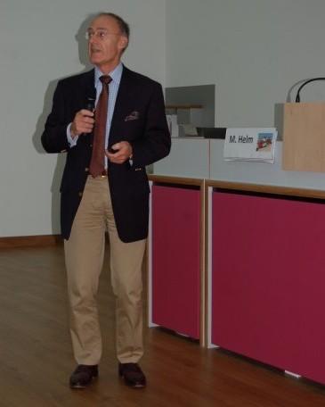 Matthias Helm zeigte eindrucksvoll, dass die zivile Notfallmedizin von den militärischen Erfahrungen profitieren könne