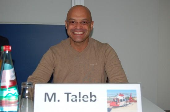 Mumi Abou Taleb moderierte zusammen mit Uwe Hamsen die zweite Sitzung