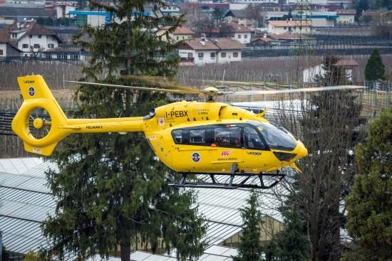 Auch seit März 2015 setzt INAER an den beiden Standorten Bozen und Brixen die H145 als Rettungshubschrauber ein