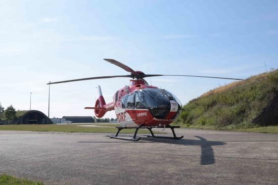 Erst kürzlich wurden die ersten beiden H135 der DRF Luftrettung zum Operation-Center am Baden-Airpark überführt