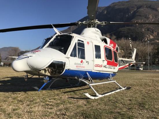 Bereits im Dezember 2016 gelang dem Fotografen die Aufnahme der Bell 412 mit dem Kenner D-HAFL