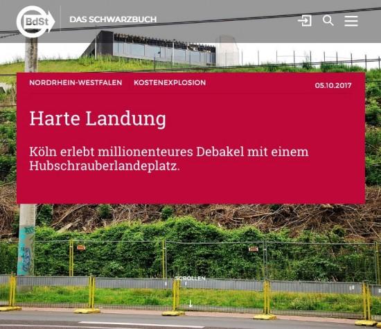 """Die Seite """"schwarzbuch.de"""" hat sogar einen Extra Artikel zur Causa Kalkberg online gestellt, mit dem sie den Kauf des """"Schwarzbuches"""" schmackhaft machen will"""