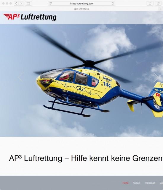 Die Webseite der GmbH i.Gr.
