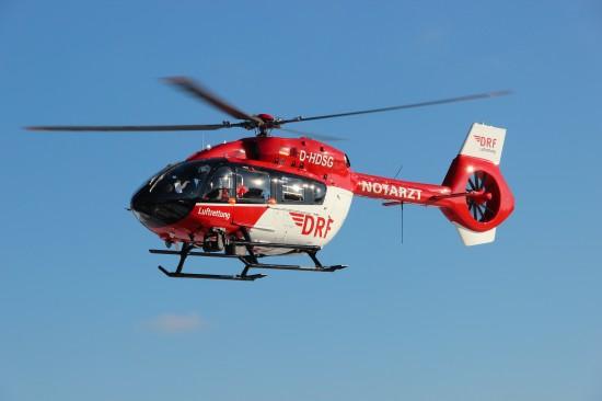 """Die H145 ist als """"Christoph Sachsen-Anhalt"""" in Dienst gegangen und hat das bisherige Hubschraubermuster EC 145 abgelöst"""