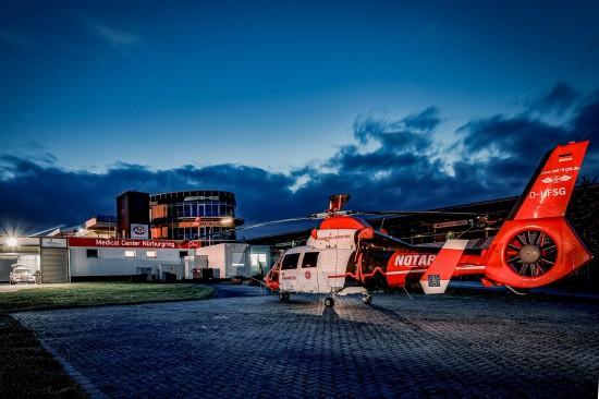 """Der ITH """"Air Rescue Nürburgring"""" der Johanniter Luftrettung startet überdurchschnittlich häufig zu  Primäreinsätzen"""