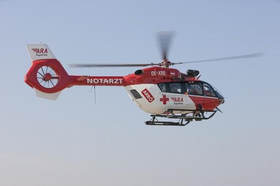 Die H145 wird derzeit im Operation Center der DRF Luftrettung in Baden-Baden auf den Einsatz in Österreich vorbereitet