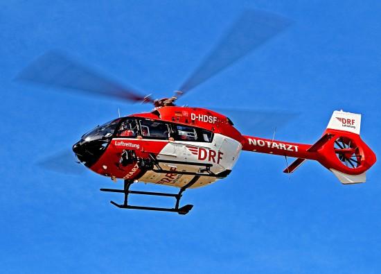 Die H145 gehört zu den modernsten voll nachtflugtauglichen Hubschraubern ihrer Klasse