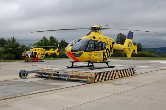 Der Hubschrauberlandeplatz am Bundeswehrzentralkrankenhaus Koblenz ist nach § 6 LuftVG genehmigt (hier eine Archivaufnahme aus dem August 2010)