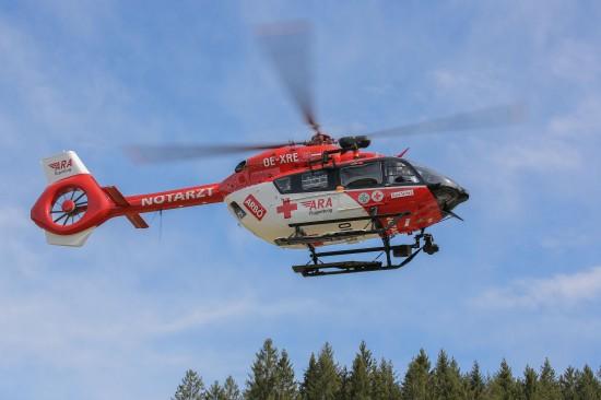 In Reutte fliegt seit Kurzem Österreichs modernster Notarzthubschrauber: eine H145 von Airbus Helicopters