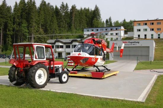 Die hochmoderne H145 löste in Reutte die bewährte BK 117 ab, die seit 2002 dort eingesetzt war