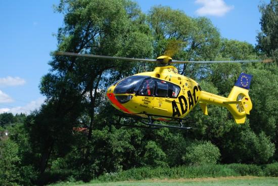 Drei Jahre nach der Übernahme ersetzte der ADAC seine BO 105 durch eine moderne EC 135