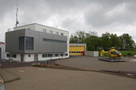 2012 begann der Umbau der ADAC-Luftrettungsstation auf dem Winterberg