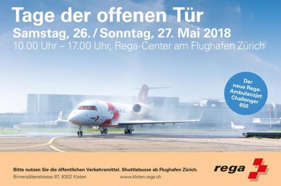 Die Rega hatte am 26. und 27. Mai zu zwei Tagen der offenen Tür am Rega-Center am Flughafen Zürich eingeladen – rund 15.000 Besucher kamen