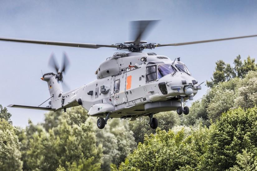 """Der zweite Protoytyp des NH90 """"Sea Lion"""" hat am 10. Juli seinen Erstflug in der Serienkonfiguration absolviert"""