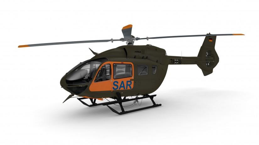 So soll der neue SAR-Hubschrauber der Bundeswehr aussehen