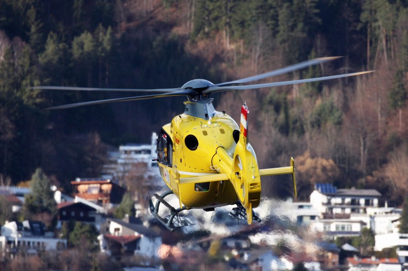 Landung eines NAH in Österreich: Hier Christophorus 1