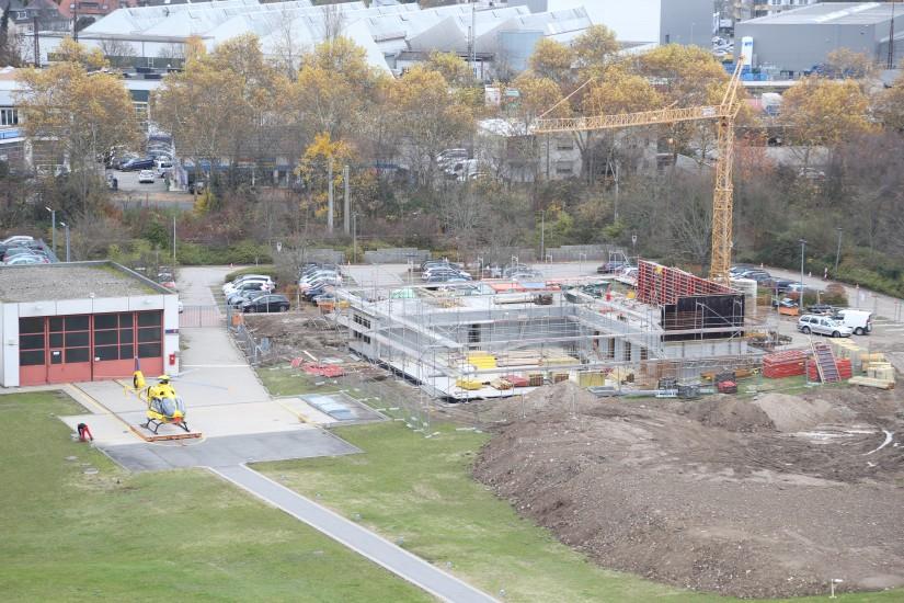 Im September 2017 fiel der Startschuss für den Neubau – Ende November 2017 waren die Bauarbeiten an dem Gebäude bereits in vollem Gange