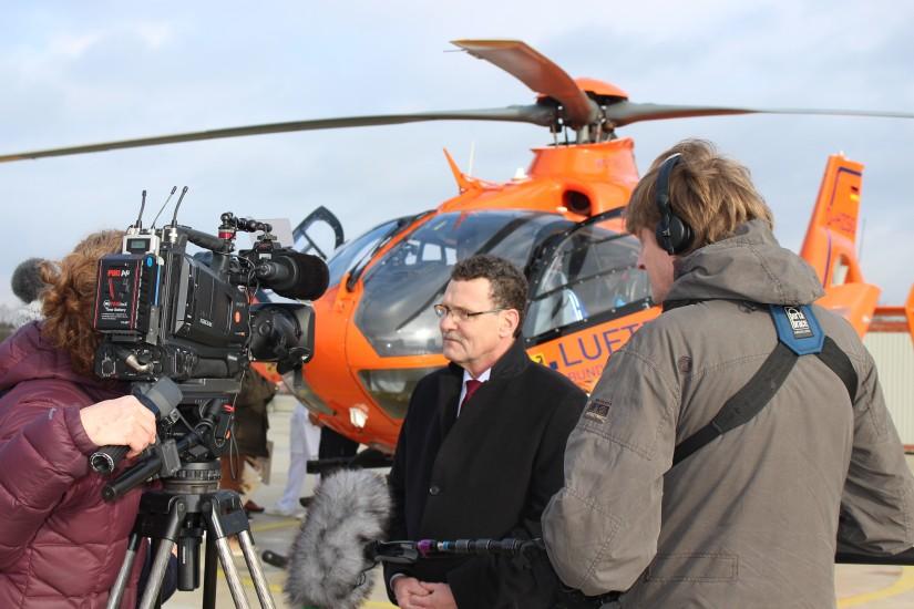 BBK-Präsident Dr. Christoph Unger stellte sich im Rahmen der Pressekonferenz den Fragen interessierter Medienvertreter.