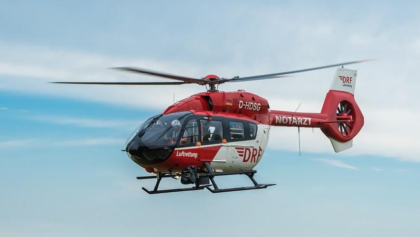 Hubschrauber des Typs H145 der DRF Luftrettung