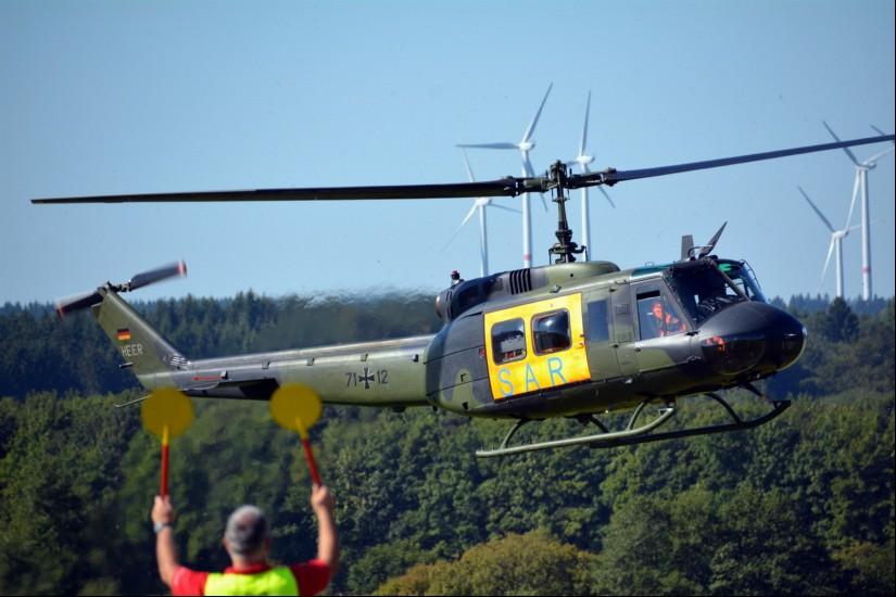 Der SAR-Hubschrauber aus Nörvenich in NRW, hier ein Archivfoto