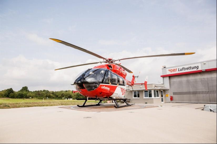 """Seit 2017 kommt in Pattonville eine EC 145 als """"Christoph 51"""" zum Einsatz"""