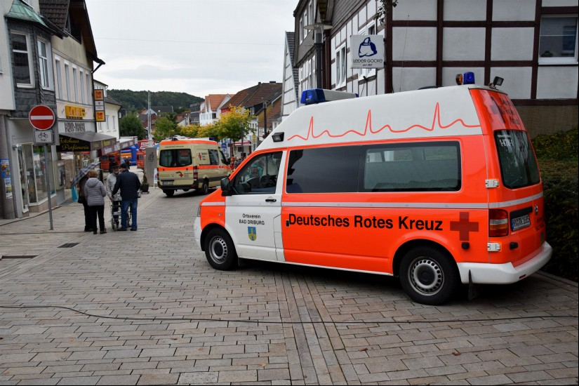Neben weiteren Feuerwehren aus dem Umland präsentierten sich am letzten Septemberwochenende in Bad Driburg aber auch der ASB, die DLRG, das Institut der Feuerwehr (IdF) NRW, die Polizei, das THW und das örtliche DRK