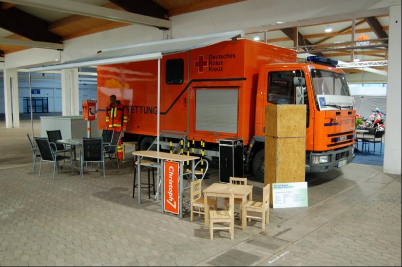 Im April 2008 präsentierte sich der Förderverein den Teilnehmern des 24. Bundeskongresses Rettungsdienst auf dem Messegelände in Kassel