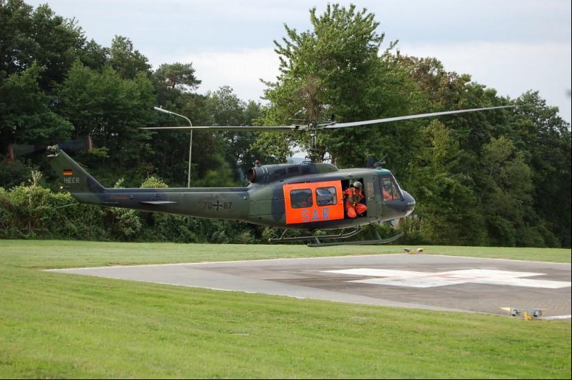 Noch setzt die Bundeswehr auf das Muster Bell UH-1D als SAR-Maschine über Land  – doch die ersten H145 LUH SAR befinden sich im Zulauf (Archivaufnahme aus dem September 2015)