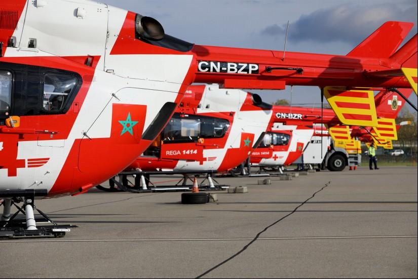 Die Maschinen wurden bereits aus dem Schweizer Luftfahrzeugregister gestrichen und mit marokkanischen Kennungen und Abzeichen versehen.