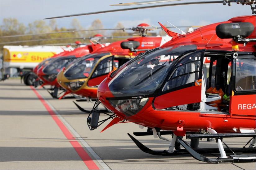Mehr als 15 Jahre war die EC 145 Flotte für die Schweizerische Rettungsflugwacht im Einsatz.