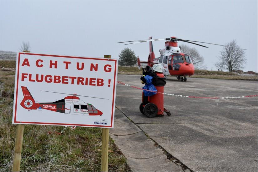 Abrupt endete am 2. September 2019 das zehnmonatige Engagement der Johanniter Luftrettung in der Westpfalz