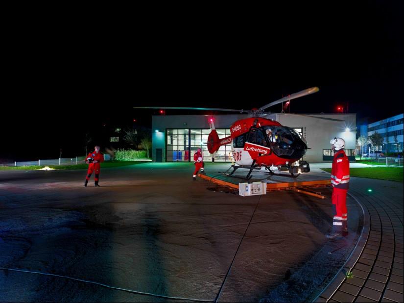 Christoph Regensburg ist rund um die Uhr für das Ostbayerischen Gebiet und darüber hinaus als Dual-Use-Hubschrauber einsatzbereit.