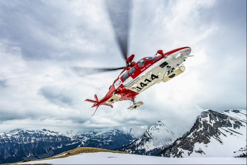 Symbolbild der Schweizerische Rettungsflugwacht REGA