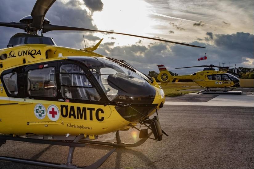 Die ÖAMTC-Flugrettung stellt trotz COVID-19 den uneingeschränkten Betrieb aller Notarzthubschrauber sicher