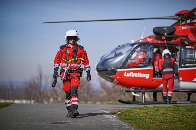Die DRF Luftretter sind an 365 Tagen im Jahr im Einsatz, um Menschen in Not schnellstmöglich zu helfen