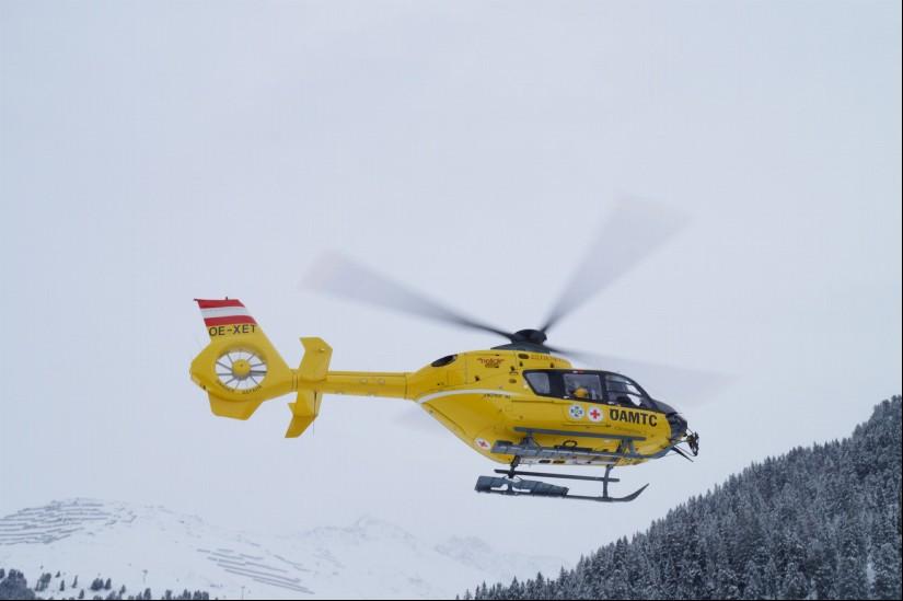 Christophorus 5 stellt weiterhin die Rettung aus der Luft für das Tiroler Oberland sicher.