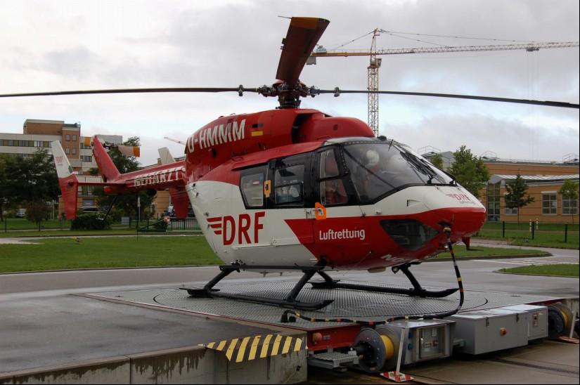 Von 2004 bis 2018 war in Greifswald eine BK 117 stationiert (Aufnahme aus dem September 2010)