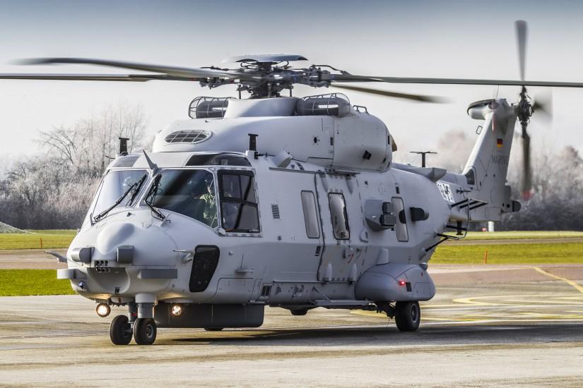 """Am 8. Juni hat die Deutsche Marine ihre ersten drei NH90 NTH """"Sea Lion"""" in Dienst gestellt"""
