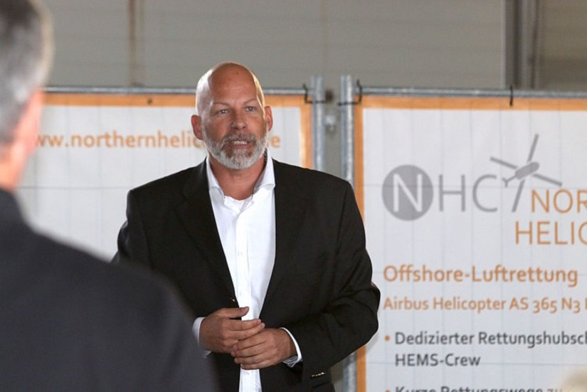 Ab dem 1. Juli 2020 ist Frank Zabell Mitglied der Geschäftsführung der Johanniter Luftrettung (vorher war er  10 Jahre lang Geschäftsführer bei Northern Helicopter)