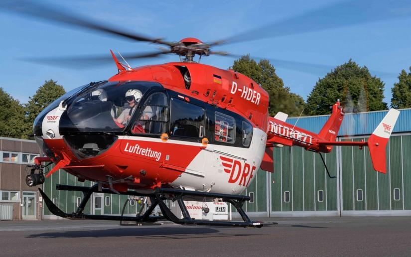 """Seit dem heutigen Freitag (17.07.2020)  startet die Crew von """"Christoph Dortmund"""" mit einer EC 145 zu ihren lebensrettenden Einsätzen"""