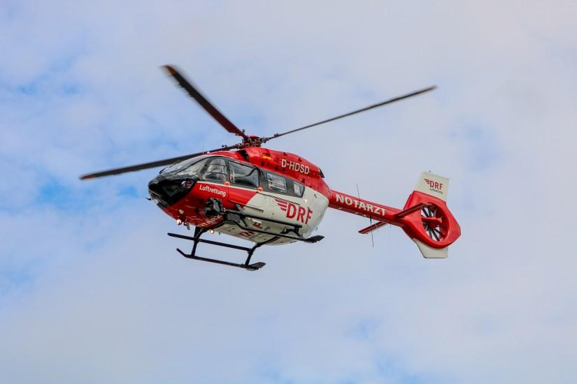 """Ab sofort startet die Crew von """"Christoph 42"""" mit einer hochmodernen H145 zu ihren lebensrettenden Einsätzen"""