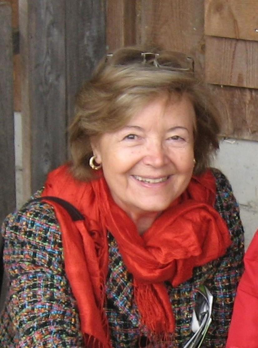 Ina v. Koenig, die Gründerin der Deutschen Rettungsflugwacht e. V. (DRF), im Jahr 2019