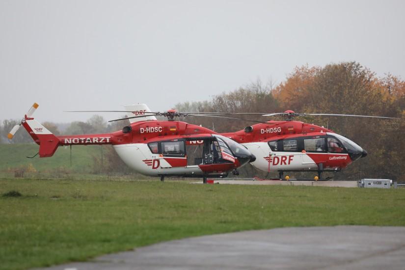Die D-HDSC wird für ihren Rückflug zum Baden Airpark vorbereitet