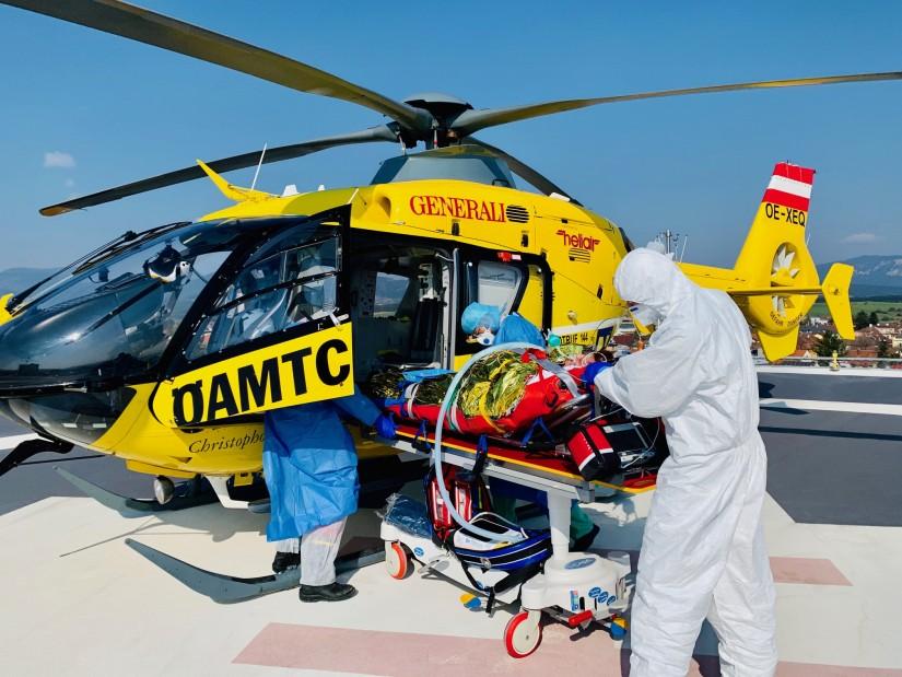 Die Notarzthubschrauber der ÖAMTC-Flugrettung flogen im Jahr 2020 über 17.000 Einsätze