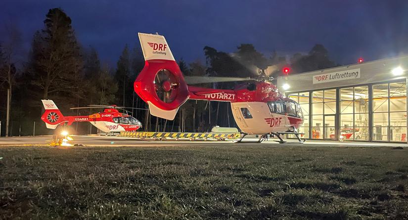 Bereits am 19. März 2021 traf das neue Hubschraubermuster in Weiden ein