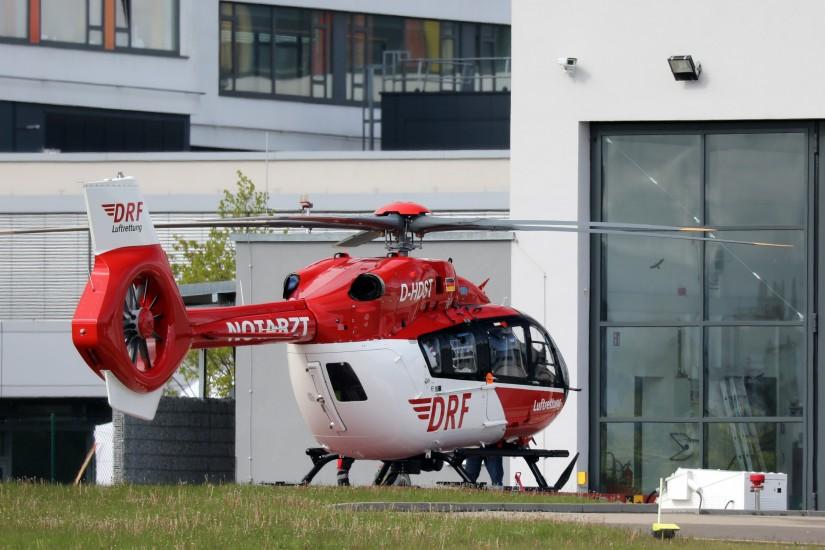 Die D-HDST im Dienst als Christoph 11 in Villingen-Schwenningen
