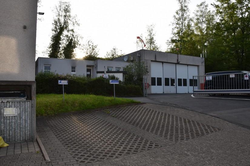 Verwaist: die alte ADAC-Luftrettungsstation am Boden (Aufnahme aus dem Mai 2021)