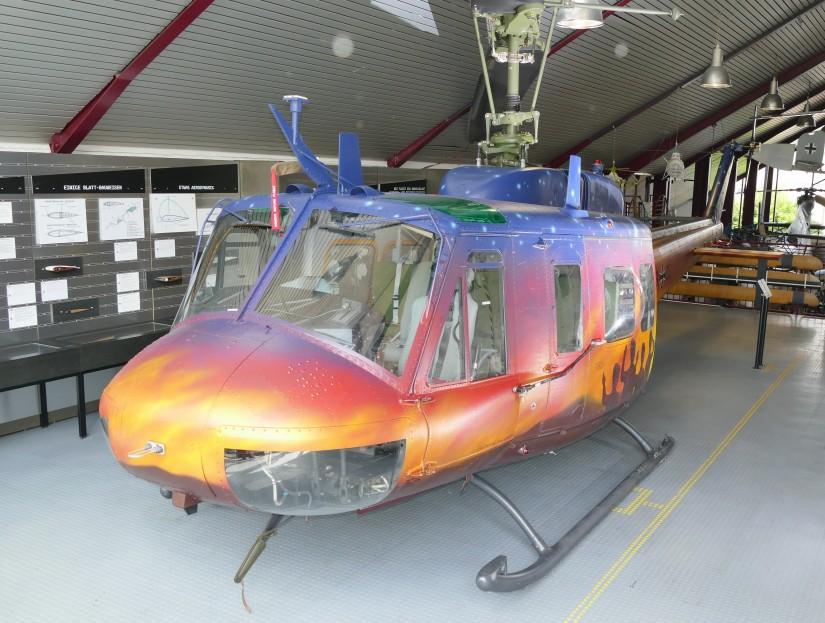 """Seit dem 20. Juli befindet sich die """"73+08"""" im Hubschraubermuseum Bückeburg"""