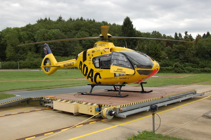"""""""Christoph 10"""" gehörte mit zu den ersten ADAC-Luftrettungsstationen, die eine H135 bekamen"""