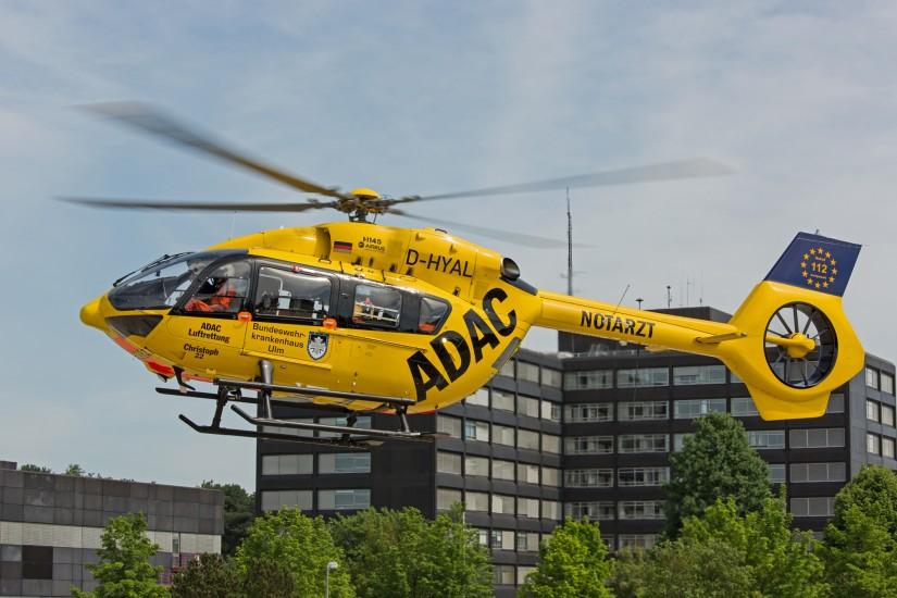 Ende Mai 2018 konnte die ADAC Luftrettung mit ihrer Modernisierung der Hubschrauberflotte auf Airbus Helicopters H 145 am Ulmer Standort abschließen.
